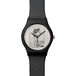 Vintage Antique Human Skeleton Medical Anatomy Wrist Watch