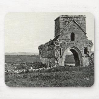 Vintage Antique Ireland Lough Erne Devenish Mouse Pad