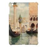 Vintage Antique Italy Venice Gondola Shrine Cover For The iPad Mini