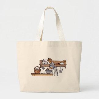 Vintage/Antique Kitchen Grocery Tote Bag