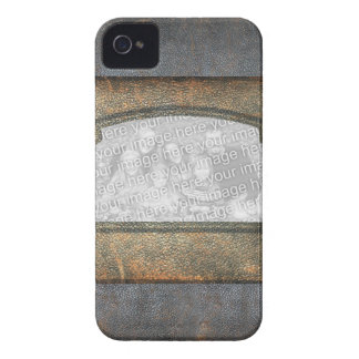 Vintage Antique Leather Look Frame Photo Insert iPhone 4 Case