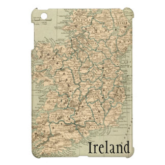 Vintage Antique Map Ireland Republic Northern Cover For The iPad Mini
