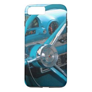 Vintage Antique Old Turquoise Blue Car Dashboard iPhone 8 Plus/7 Plus Case