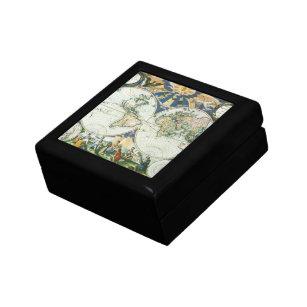Old World Map Gift Boxes Keepsake Boxes Zazzle - Antique map box