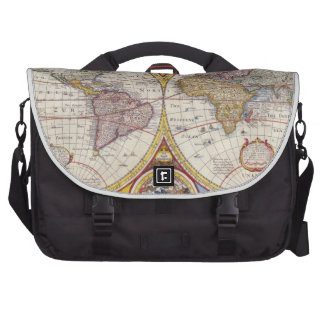 Vintage Antique Old World Map cartography Bag For Laptop