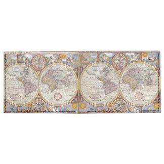 Vintage Antique Old World Map cartography Tyvek Wallet