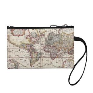 Rustic vintage travel map bags handbags zazzle vintage antique old world map design faded print change purse gumiabroncs Images