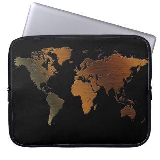 Vintage Antique Old World Map Laptop Sleeve