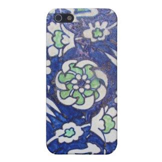 Vintage Antique Ottoman Style ceramic tile iPhone 5 Cases