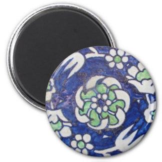 Vintage Antique Ottoman Style ceramic tile Magnet
