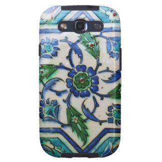Vintage Antique Ottoman Tile Design Samsung Galaxy S3 Cases