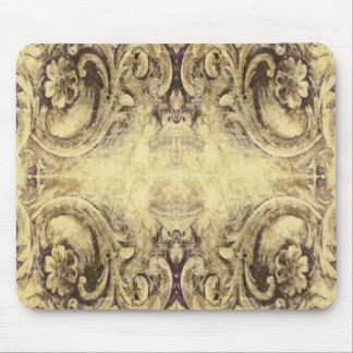 Vintage,antique ,pattern,grunge,worn,wood,wall, mouse pad
