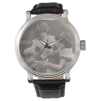 Vintage antique Photo wach FromMyDesk Wrist Watch