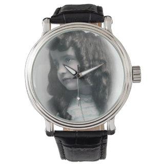Vintage antique Photo wach FromMyDesk Wristwatch