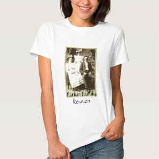 Vintage Antique Picture of Family Tee Shirt