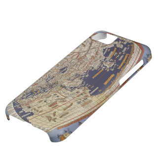 Vintage Antique Ptolemaic World Map, 1482 Cover For iPhone 5C