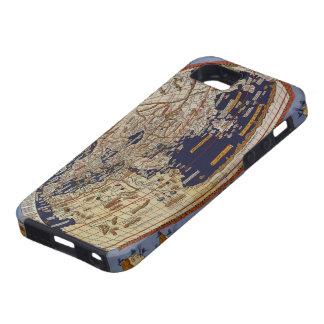 Vintage Antique Ptolemaic World Map, 1482 iPhone SE/5/5s Case