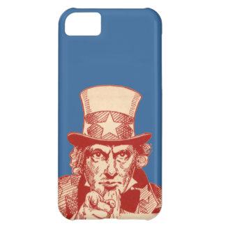 Vintage Antique Red Uncle Sam Independence July 4 iPhone 5C Case