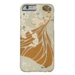 Vintage Antique Retro Art Nouveau Woman Flowers iPhone 6 Case