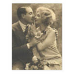 Vintage Antique Romantic Couples Cards, Gifts Post Cards