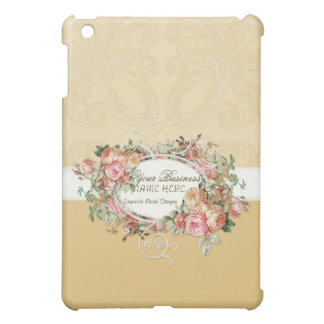 Vintage Antique Roses Floral Bouquet Modern Swirls Case For The iPad Mini