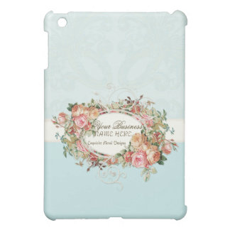 Vintage Antique Roses Floral Bouquet Modern Swirls iPad Mini Cover