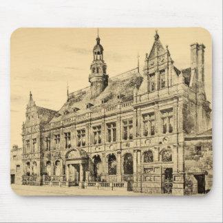 Vintage Antique Scotland Ayr Architecture Mouse Pad