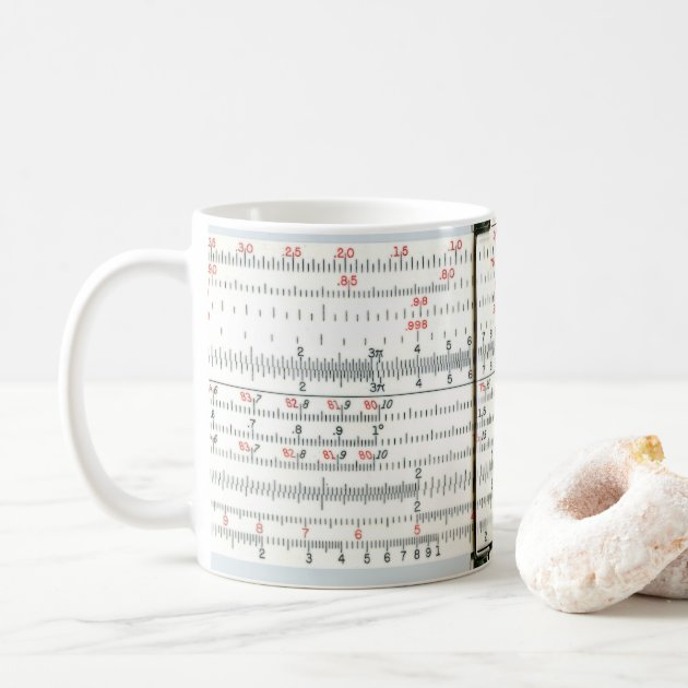 Studio Dalio - Antique Slide Rule Mug
