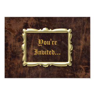 Vintage Antique Style Party Invitations