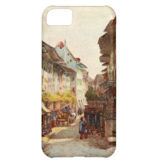 Vintage Antique Switzerland Bern Street iPhone 5C Cover