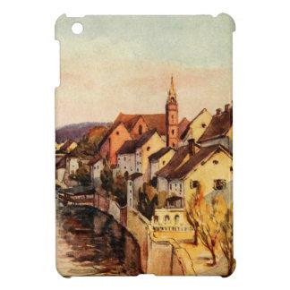 Vintage Antique Switzerland Rhine River Basel iPad Mini Cases