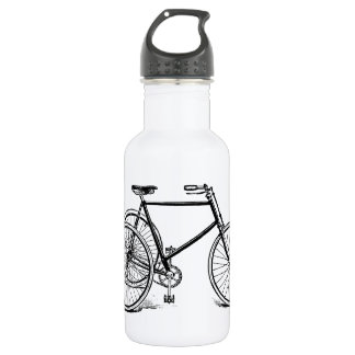 Vintage Antique Tricycle Stainless Steel Water Bottle