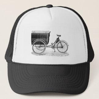 Vintage Antique Tricycle Trucker Hat