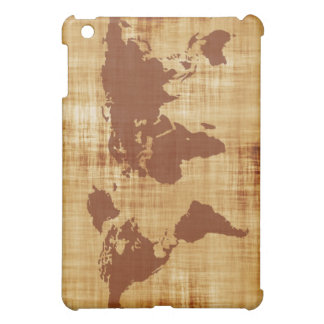 Vintage Antique World Map Montage Case For The iPad Mini