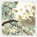 Vintage Apfelblüte Aufkleber