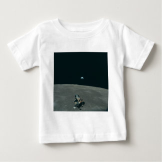 Vintage Apollo 11 Moon Mission Eagle's Ascent Baby T-Shirt