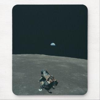 Vintage Apollo 11 Moon Mission Eagle's Ascent Mouse Pad