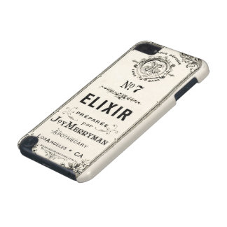 Vintage Apothecary Elixir Label iPod Touch 5G Covers