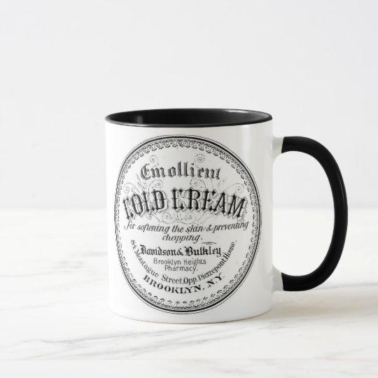 Vintage Apothecary Label Mug