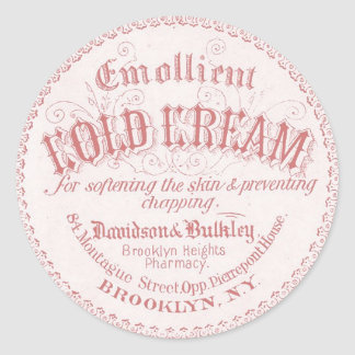 Vintage Apothecary Label Stickers