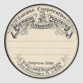 Vintage Apothecary Labels
