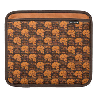 Vintage Apothecary Skulls Sleeve For iPads