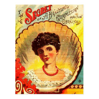 Vintage Apothecary Woman Postcard