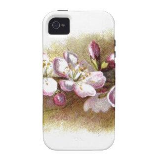 Vintage Apple Blossom Flowers Vibe iPhone 4 Cases