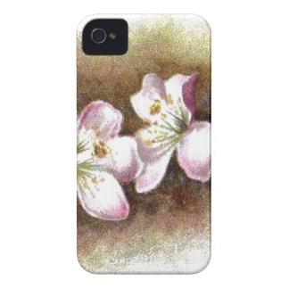 Vintage Apple Blossom Flowers Case-Mate iPhone 4 Case