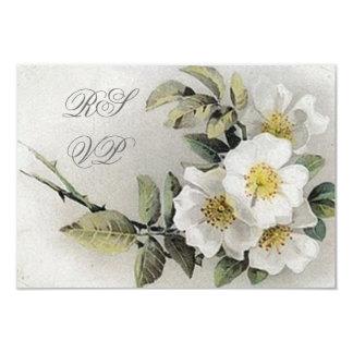 Vintage Apple Blossom RSVP Cards