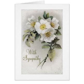 Vintage Apple Blossom Sympathy Card