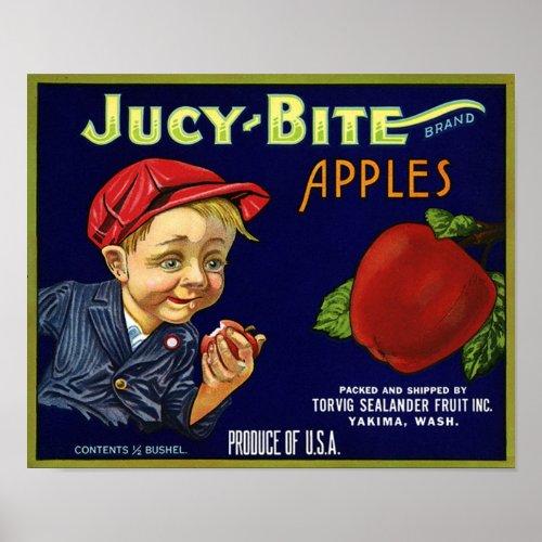 Vintage Apple Crate Print