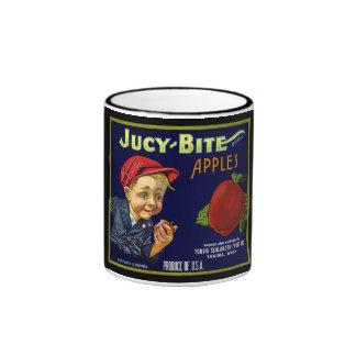Vintage Apple Label Mug