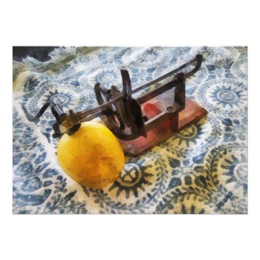 Vintage Apple Peeler Comunicados Personalizados